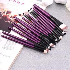 15pcs Cosmetic Brush Eye Shadow Eyebrow Foundation Lip Makeup Brushes set Tool