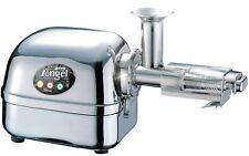 Angel Juicer 8500s exprimidor de acero inoxidable jugo de prensa incl. dos frascos jugo Trendglas