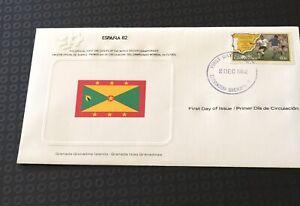 1982 Espana 82 Soccer World Cup Fdc  Grenadine Islands