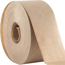 Ultra Durable Reinforced Gum Kraft Gum Tape Adhesive 2.75 Inches x 450 Feet Pack