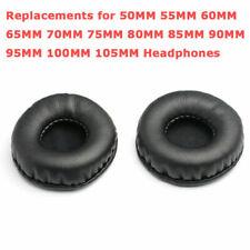 1 Par 50mm-105mm Auriculares Esponja Orejeras Pad Cojín Funda Protector Fuente