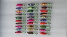 20pcs luninous fishing lure ,squid jigs.soft body,7cm ,5g,random colour mixed