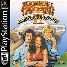 The Dukes of Hazzard II: Daisy Dukes It Out (PlayStation 1) PS1 Game