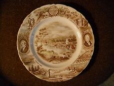 Vintage Oregon State Staffordshire Collector's Plate