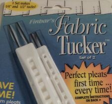 Finbar's Fabric Tucker, Double Pack, New and Unopened. Make perfect pleats!