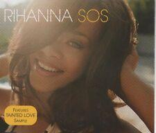 RIHANNA SOS  2 TRACK CD NEW - NOT SEALED