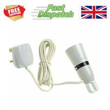 Wine Bottle Light Lamp Adaptor Kit Fitting 2m UK Plug White