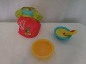 Baby Alive Doll Lot Dress  Bowl spoon