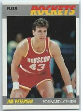 1987-88 Fleer Basketball #86 Jim Petersen Rookie Card NM-MT-MT+