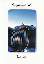 JAGUAR XK 120 140 150 Cabriolet Coupé Carpoint Tuning prospectus brochure 1998/8