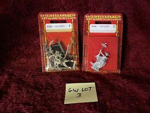 NIB Warhammer Fantasy Battle Metal OOP Citadel miniature Lot Tomb Kings Liche