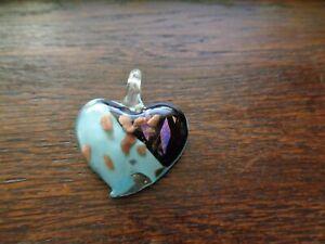 Murano-Glas Schmuck Anhänger Herz
