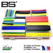 BSFrance Set gaine thermo rétractable manchons isolant7 Couleurs 9 tailles 392