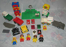 Lego Duplo Race Car Set - Parts to 3614 Racing - Octan - Trophy, Trailer, etc.