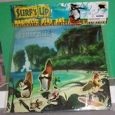 Surf's up MOVIE Penguin Magnetic Play Set ANIMATION SONY NEW SURFBOARDS BEACH
