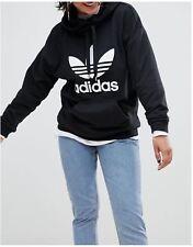 ADIDAS Women's Trefoil PO Pullover Hoodie Jumper - Size 12 14 - OZ STOCK!
