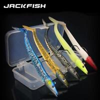 Soft Fishing Lure Artificial Pike Peche Bait For Bass With Box Fishing Tackle