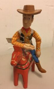 "Toy Story Woody Cowboy Doll Figure Burger King 6"" Tall"