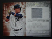 2020 Topps Series 2 Miguel Cabrera Tigers Major League Jersey Relic Card