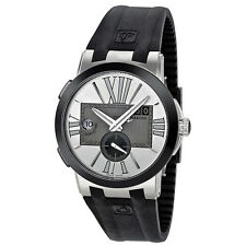 Ulysse Nardin Executive Dual Time Automatic Silver Dial Mens Watch 243-00-3-421