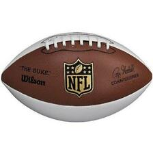 "New Wilson Nfl Autograph Football Official Size ""The Duke"" Fan Collectible Ball"