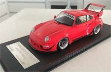 1/18 Diecast Hobby Design Porsche 993 RWB Rare suit-Ignition-Autoart-GT Spirit