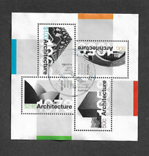 Australia postally used min sheet-Architecture