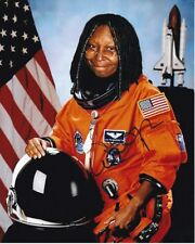 WHOOPI GOLDBERG Signed NASA ASTRONAUT Photo w/ Hologram COA