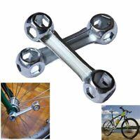sechseck schraubenschlüssel knochen - form fahrrad - reparatur - werkzeug