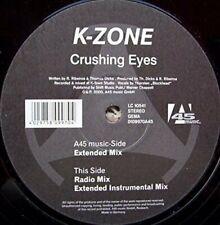 """K-Zone + Maxi 12"""" + Crushing eyes (Ext., 2000)"""