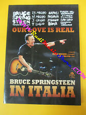 BOOK LIBRO BRUCE SPRINGSTEEN in italia Our love is real 2014 ARCANA no cd lp dvd