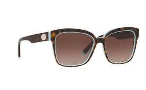 Tiffany & Co TF4162 82893B Havana Turquoise / Brown Shaded Sunglasses