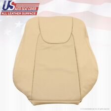 Fits 2010 2011 2012 Lexus RX350 Driver Lean Back Perforated Leather Cover Tan