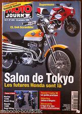 MOTO JOURNAL 19/10/1995; Salon de Tokyo/ Harley 1340 Road King, Honda 1500 Gold