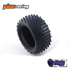 """Ballistic Buggy Mini Spike Blanco Compuesto 1/10 Trasero 2.2"""" Neumáticos (un Par) BBT22"""