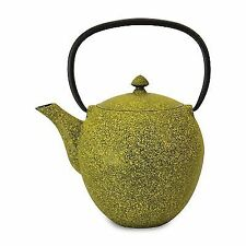 BergHOFF Studio-Cast Iron Teapot-Mesh Filter-Lemon