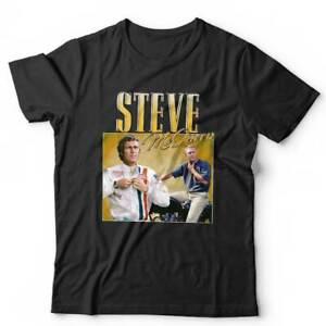 Steve McQueen Appreciation Tshirt Unisex & Kids - Racing, Driving, Vintage