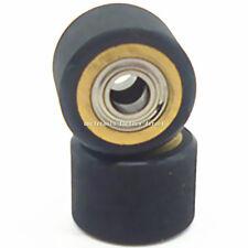 2pc Pinch Roller Hole Dia 4mm For Roland Cutting Vinyl Plotter Cutter 4x10x14mm