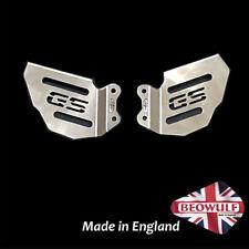 BMW R1250 GS, GSA (18-20) Stainless Steel Foot Peg Heel Plates - Beowulf HPBM003