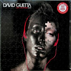 David Guetta- Just A Little More Love 2-LP NEW Limited Edition CLEAR VINYL 2019
