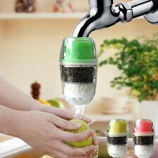 Home Coconut Carbon Cartridge Faucet Tap Water Clean Purifier Filter