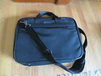 Briggs and Riley Executive Briefcase, Black, Laptop Sleeve Messenger Bag BB101
