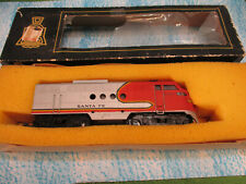VINTAGE ITB Playcraft Santa Fe Diesel Engine Railroad Train Set Car