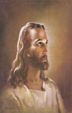 Jesus Christ Vintage Religious Painting Portrait of Jesus 24x36 inches