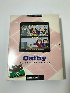 Vintage CATHY Guisewite Daily Planner for DOS 3.1 Still Sealed, RARE Collectible