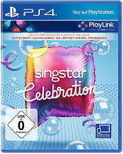 SingStar Celebration (Sony PlayStation 4, 2017)