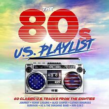 Various Artists - The 80s U.S. Playlist (2017)  3CD  NEW/SEALED  SPEEDYPOST