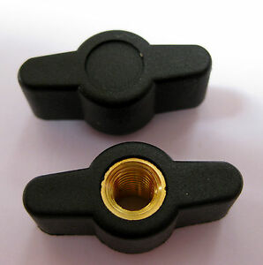 Wing knob Female M4 M5 M6 thumb screw router camera saw Drill Nut Bolt