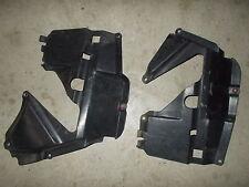 1986 Honda TRX 350 4X4 Left Right Side Front Wheel Splash Gaurds Guards Plastic