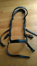 Micklem Deluxe Competion bridle w schockemohle crown & Passier crystal browband